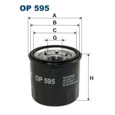 OP 595 Фильтр масляный Filtron