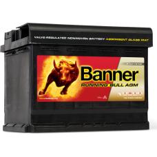 Аккумулятор 6СТ-60 «Banner Running Bull (AGM)» о/п