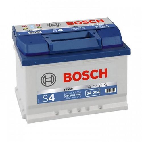 """Аккумулятор BOSCH 60 а/ч 540А """"S4 004"""", 242x175x175, Обратная 0 092 S40 040"""