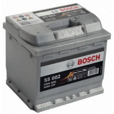 """Аккумулятор BOSCH """"S5 002"""" 54 а/ч 530 А, 207x175x190, Обратная 0 092 S50 020"""