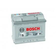 """Аккумулятор BOSCH """"S5 005"""" 63 а/ч 610 А, 242x175x190, Обратная 0 092 S50 050"""