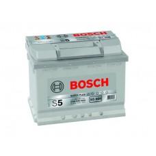 "Аккумулятор BOSCH ""S5 006"" 63 а/ч 610 А, 242x175x190, Прямая 0 092 S50 060"
