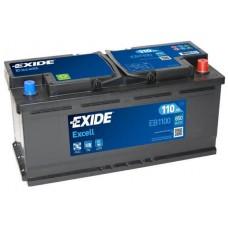 Аккумулятор Exide Excell, 110 а/ч 850 A, 392x175x190, Обратная