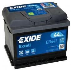 Аккумулятор Exide Excell, 44 а/ч 420 A, 207x175x175, Обратная