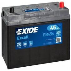 Аккумулятор Exide Excell, 45 а/ч 330 A, 237x127x227, Обратная