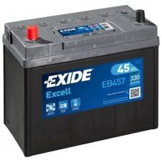 Аккумулятор Exide Excell, 45 а/ч 330 A, 237x127x227, Прямая