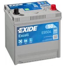 Аккумулятор Exide Excell, 50 а/ч 360 A, 200x173x222, Обратная