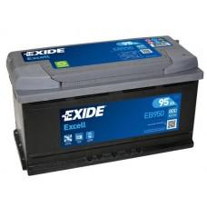 Аккумулятор Exide Excell EB950, 95 а/ч 800 A, 353x175x190, Обратная