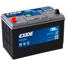 Аккумулятор Exide Excell EB955, 95 а/ч 720 A, 306x173x222, Прямая