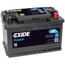 Аккумулятор Exide Classic, 65 а/ч 540 A, 278x175x175, Обратная