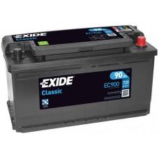 Аккумулятор Exide Classic, 90 а/ч 720 A, 353x175x190, Обратная
