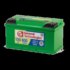 Аккумулятор 6ст-100 General Technologies (Курск), 353x175x190, Прямая