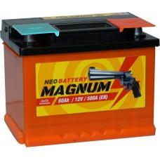 Аккумулятор 6ст-60 (Magnum), 242x175x190, Обратная