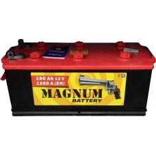 Аккумулятор MAGNUM 190 А/ч 1150 А, Прямая полярность (Болт)