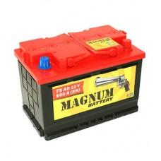 Аккумулятор MAGNUM 75 А/ч 590 А, Обратная полярность