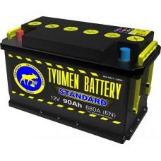 Аккумулятор Тюмень 90 А/ч 680 A, Прямая полярность