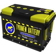 Аккумулятор Тюмень 75 А/ч 630 A, Обратная полярность