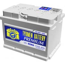 Аккумулятор Тюмень Premium 60 А/ч 510 A, Обратная полярность