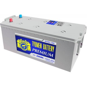 Аккумулятор тюмень Premium 220 а/ч 1420 А>