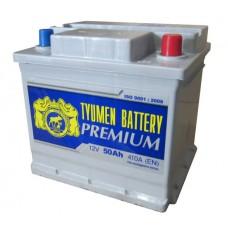 Аккумулятор Тюмень Premium 50 А/ч 410 A, Обратная полярность