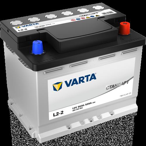 Аккумулятор Varta Стандарт, 60 а/ч 520 A, 242x175x190, Обратная полярность