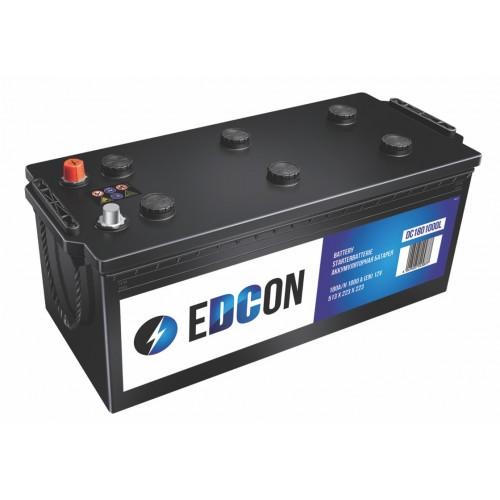 Аккумулятор автомобильный eDCon 180 А/ч 1000 А, 513x223x223, Обратная полярность (-+)