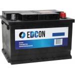 Аккумулятор eDCon 60 А/ч 540 А, низкий, Обратная полярность
