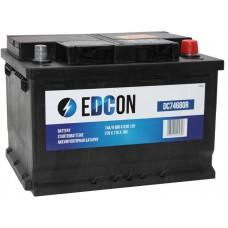 Аккумулятор автомобильный eDCon 74 а/ч 680 А, 278x175x190, Обратная