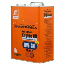 AUTOBACS Fully Synthetic 0W-30 SN/GF-5, 4 литра