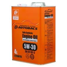 AUTOBACS Fully Synthetic 5W-30 SN/CF/GF-5, 4 литра