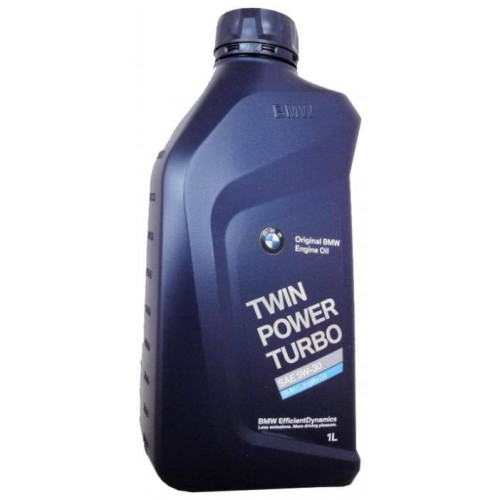 Моторное масло BMW TwinPower Turbo Longlife-04 SAE 5W30, 1 литр, синтетическое