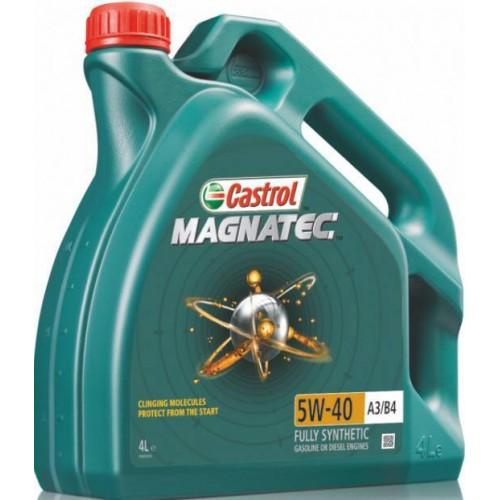 Моторное масло CASTROL Magnatec Dualock A3/B4 5W40, 4 литра,
