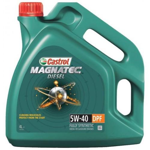 Моторное масло CASTROL Magnatec Diesel DPF 5W40, 4 литра,
