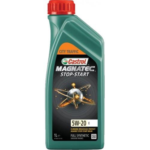 Моторное масло CASTROL Magnatec Stop-Start E 5W20, 1 литр,