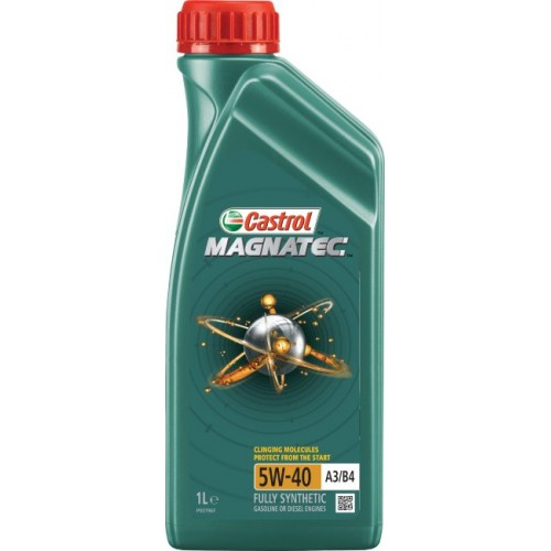 Моторное масло CASTROL Magnatec A3/B4 5W40, 1 литр,
