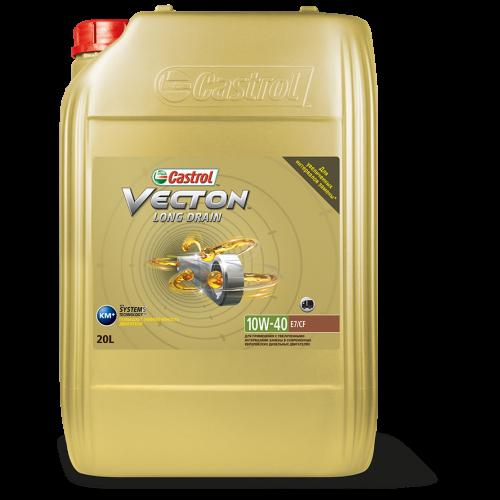CASTROL Vecton Long Drain E7 10W40, 20 литров