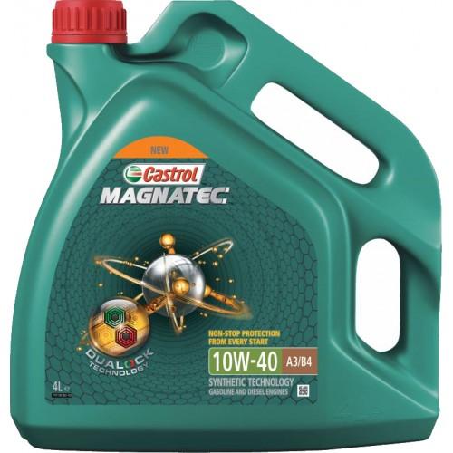 Моторное масло CASTROL Magnatec A3/B4 10W40, 4 литра,