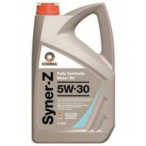 Моторное масло Comma Syner-Z 5W30, 5 литров,