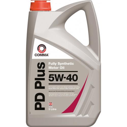 Моторное масло Comma PD Plus 5W40, 5 литров,