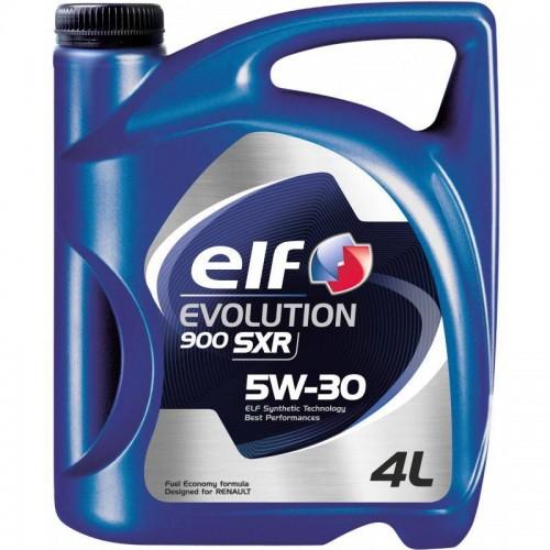 Моторное масло ELF Evolution 900 SXR 5W30, 4 литра, синтетическое