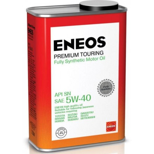 Моторное масло ENEOS Premium TOURING SN 5W40, 1 литр, синтетическое