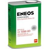 для дизельных ДВС ENEOS SUPER DIESEL CG-4 10W40, 1 литр