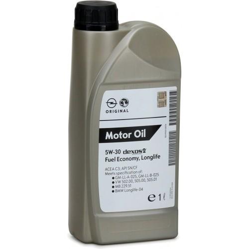 GM Dexos 2 5W-30, 1 литр