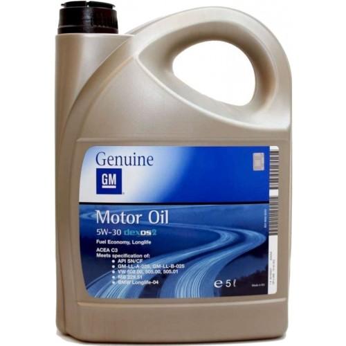 GM Dexos 2 5W-30, 5 литров
