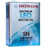 Honda Ultra LEO 0W20 SN, 4 литра