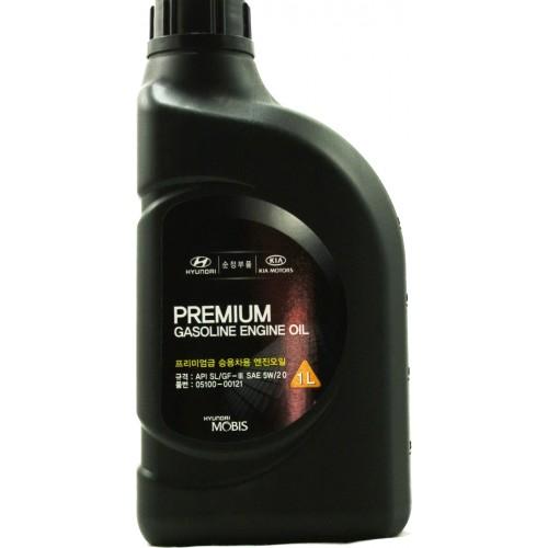 HYUNDAI Premium Gasoline 5W20, 1 литр