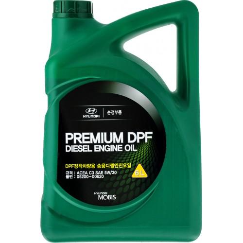 HYUNDAI Premium DPF Diesel 5W30, 6 литров