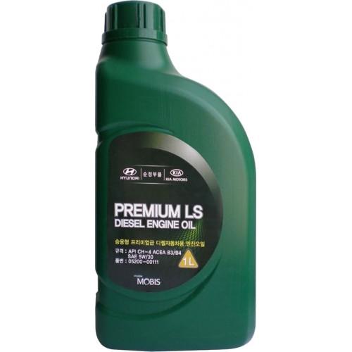 Моторное масло HYUNDAI Premium LS Diesel 5W30, 1 литр, полусинтетическое