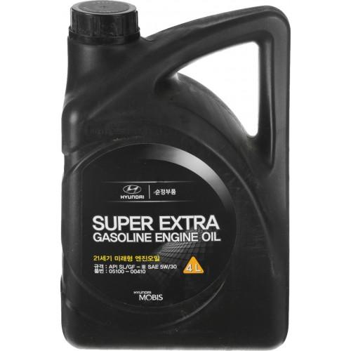 HYUNDAI SUPER EXTRA 5W30 SL/GF-3, 4 литра