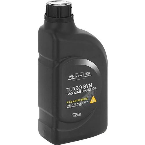 Моторное масло HYUNDAI TURBO SYN 5W30 SM/GF-4, 1 литр, синтетическое
